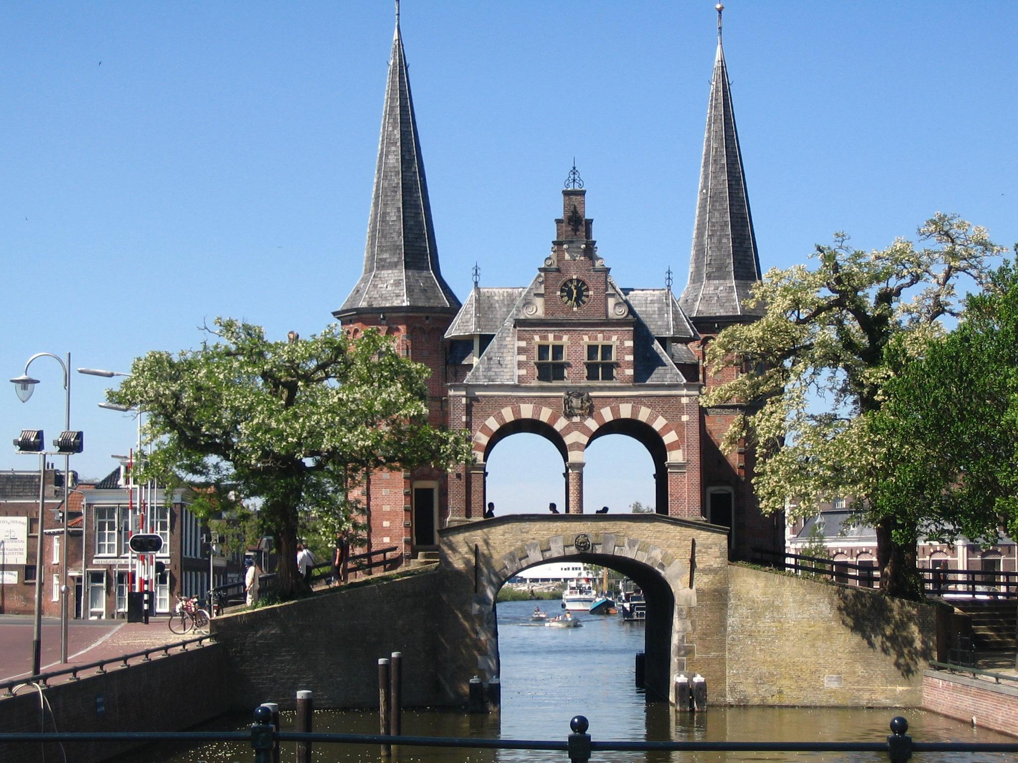Sneek de watersportstad in Friesland